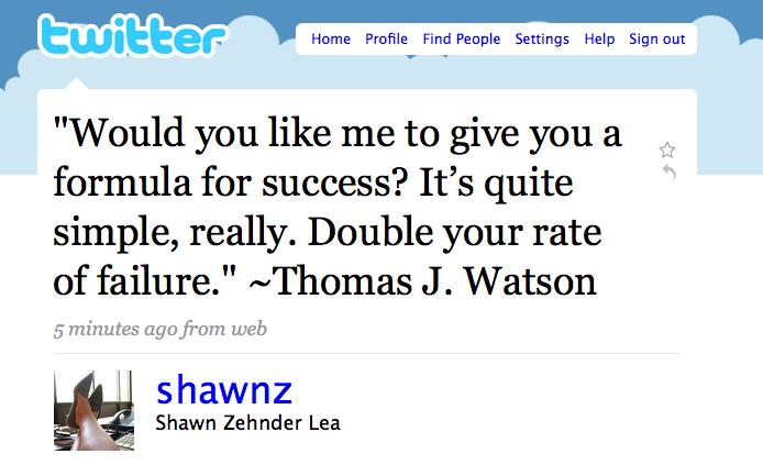 Failure watson shawnz - j
