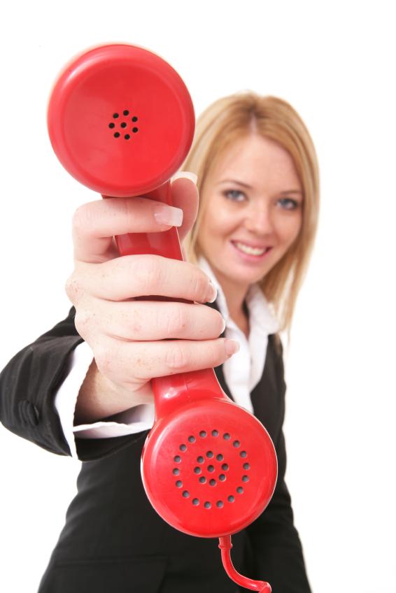 Handingthephone