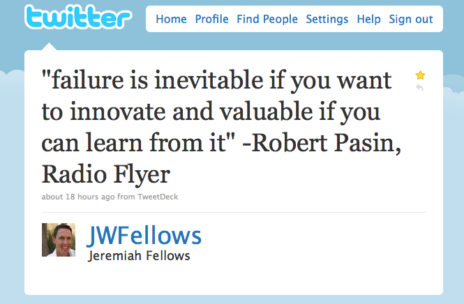 Jwfellows - failure - j