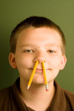 Pencil nose