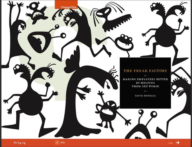 Freak factory - screen shot