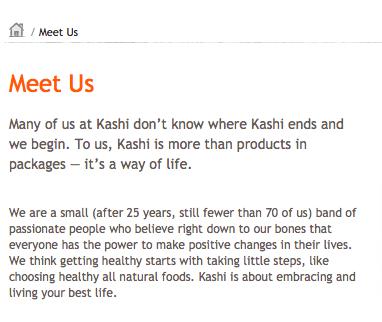 Meet us - kashi
