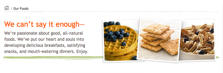 Our foods - kashi